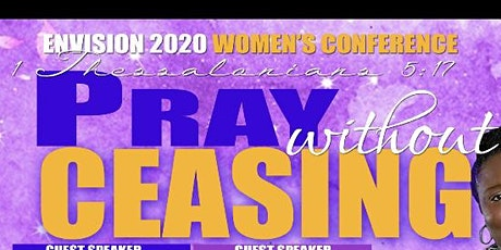 ENVISION 2020: Pray Without Ceasing Women's Conference  tickets