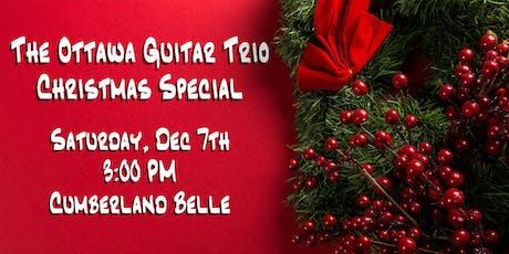 The Ottawa Guitar Trio Christmas Speical: Cumberland tickets