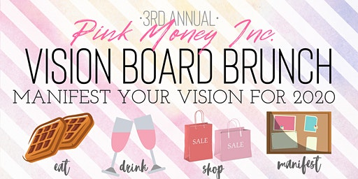 Pink Money Inc. Vision Board Brunch