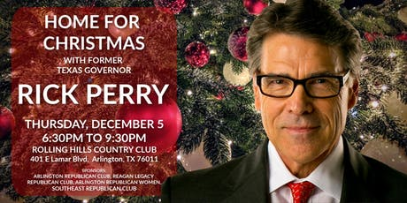 Home for Christmas With Rick Perry  tickets