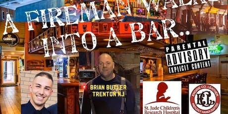 A Fireman Walks Into a Bar tickets