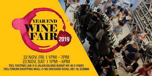 Year End Wine Fair 2019 – Up to 42 Labels of Your Favourite Wine Countries
