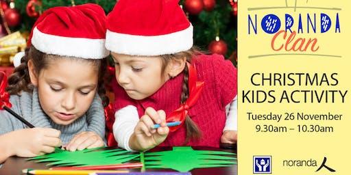 Noranda Clan Christmas Kids Activity