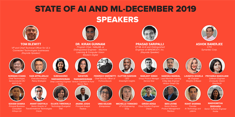 State of AI and ML-December 2019 tickets