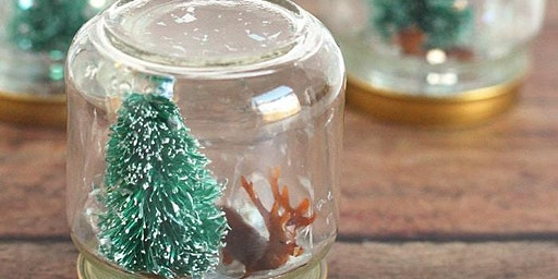 Christmas Snow Globe Making- Kids Workshop #2