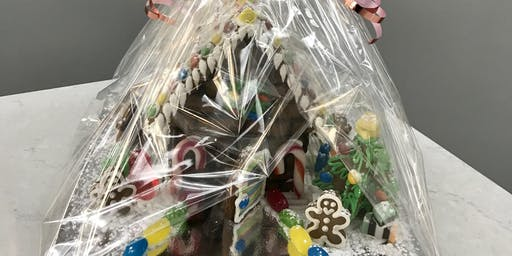 FAMILY/GROUP GINGERBREAD HOUSE DECORATING GROUP - MEDIUM