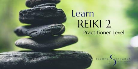 Learn Reiki 2 tickets