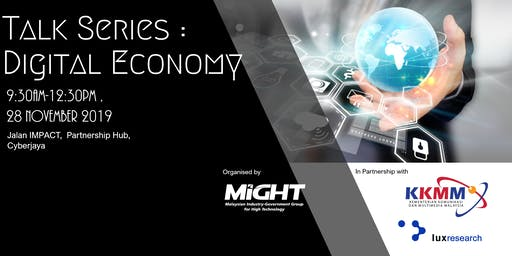 TALKSERIES : DIGITAL ECONOMY
