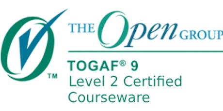 TOGAF 9: Level 2 Certified 3 Days Virtual Live Training in Brisbane tickets