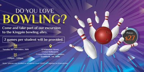 Kingpin Bowling Alley tickets