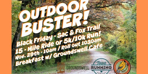 3rd Annual OutDoor Buster