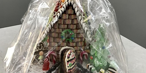 FAMILY/GROUP GINGERBREAD HOUSE DECORATING GROUP - LARGE