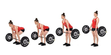 Learn the Deadlift: #1 for Back Pain Prevention & Athletic Performance. tickets