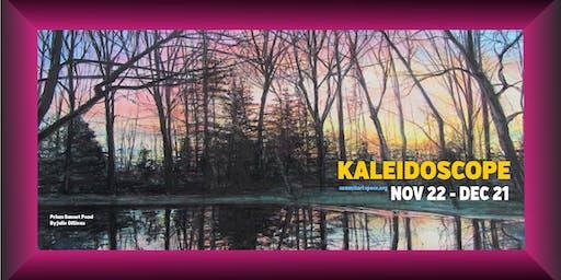 OPENING NIGHT! 17th Kaleidoscope Holiday Art Show, Nov. 22