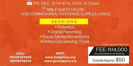 Indigitous Lagos Conference tickets