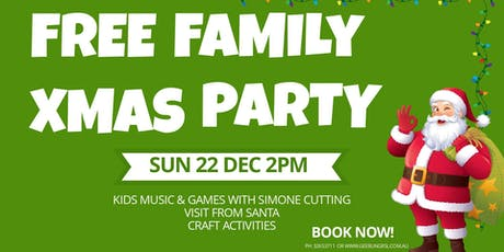 Free Family Christmas Party tickets