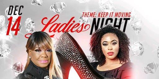 Ladies Night  All Black Affair Hair & Fashion Show Theme Keeping It Moving