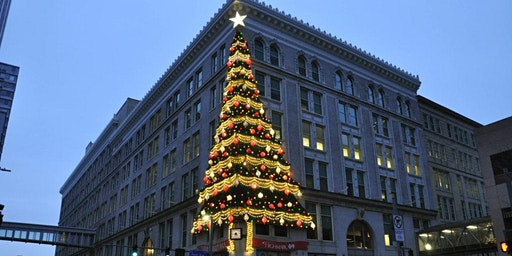 Downtown Pittsburgh holiday walking tour