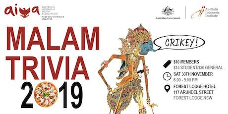Malam Trivia 2019 tickets