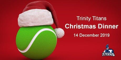 Trinity Titans Christmas Dinner tickets