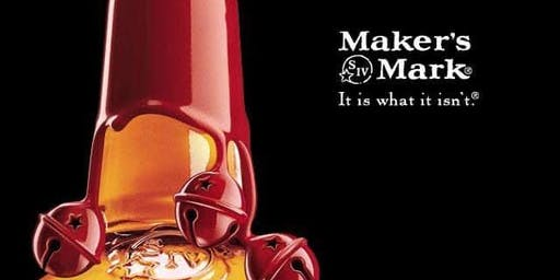 Christmas Glass Dipping Experience hosted by Makers Mark