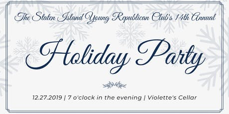 The Staten Island Young Republican Club's 14th Annual Holiday Party tickets