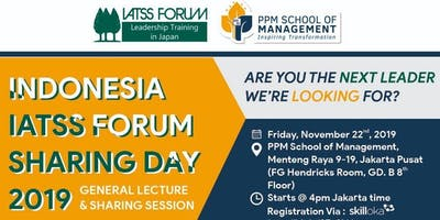 Indonesia IATSS FORUM Sharing Day 2019