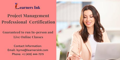 Project Management Professional Certification Training (PMP® Bootcamp) in Atherton tickets