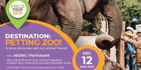 Field Trip: Petting Zoo 2019 tickets