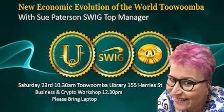 New Economic Evolution of the World Toowoomba tickets
