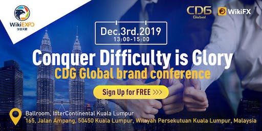 [WikiEXPO & CDG] Conquer Difficulty is Glory CDG Global Brand Conference