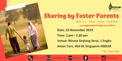 Sharing on Fostering by Foster Parents