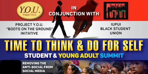 TIME TO THINK & DO FOR SELF...State of the Black College Student