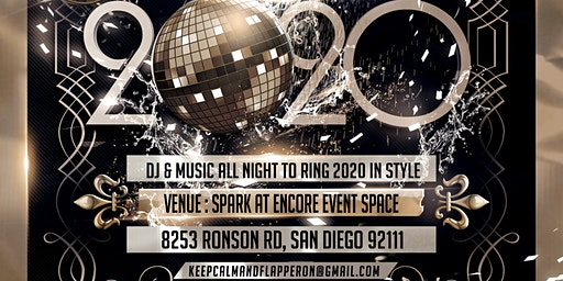 Roaring 20s New Years Eve party