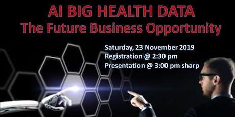 AI Big Health Data tickets