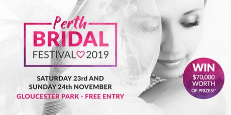 Perth Bridal Festival 2019 tickets