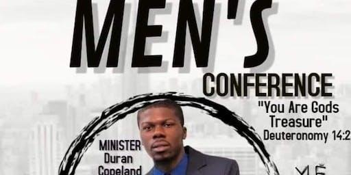 """Men Conference """"You Are Gods Treasure """""""