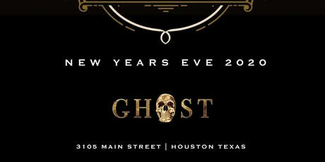 MASQUERADE NYE at Ghost Bar & Lounge tickets