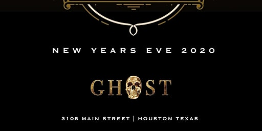 MASQUERADE NYE at Ghost Bar & Lounge