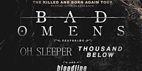 BAD OMENS + MORE (Spokane) *POSTPONED* tickets