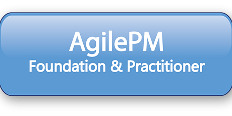 Agile Project Management Foundation & Practitioner (AgilePM®) 5 Days Virtual Training in Canberra tickets