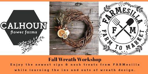 Fall Wreath Workshop - FARMesilla