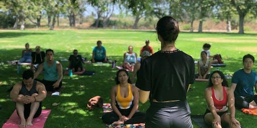 Chakra Workshop: Vinyasa Yoga + Sound Bath Meetup