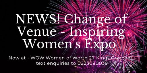 Inspired Women's Expo - 'Excellence in Action'  Sat 23 Nov 8.15am -4.45pm