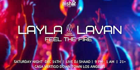 JYP ~Layla Lavan ~ Feel The Fire  tickets