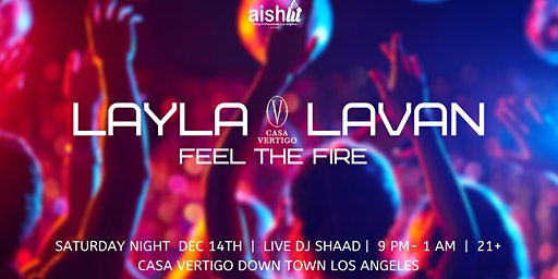 JYP ~Layla Lavan ~ Feel The Fire
