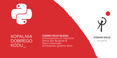 Coding Dojo Silesia #12K - Python Edition