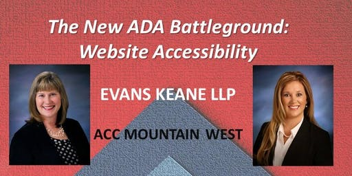 The New ADA Battleground: Website Accessibility