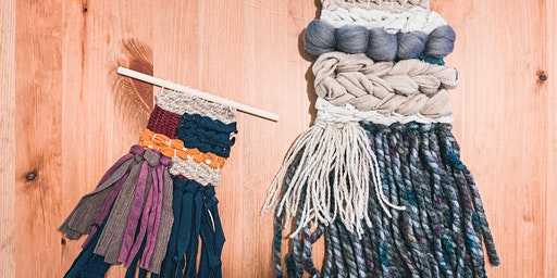 """""""The Upcycle Project""""- Creative Loom Weaving"""