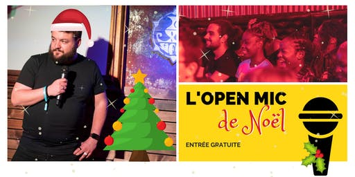 L'Open Mic de Lausanne de Noël - 13 décembre